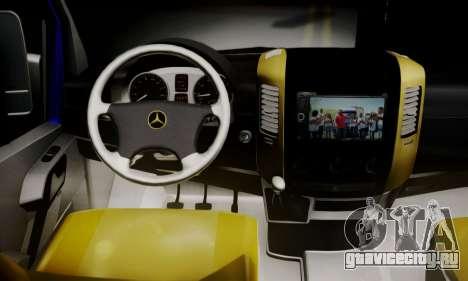 Mercedes-Benz Sprinter Dolmus v2 для GTA San Andreas вид сзади слева