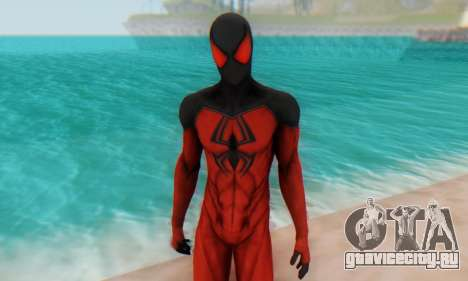 Skin The Amazing Spider Man 2 - Scarlet Spider для GTA San Andreas