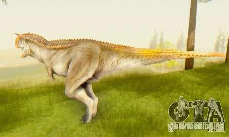Carnotaurus для GTA San Andreas второй скриншот