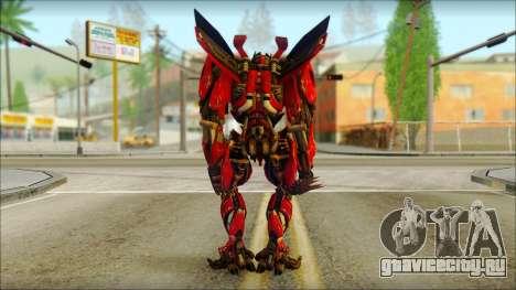 Дино Мираж (Трансформеры Темная сторона луны) v2 для GTA San Andreas второй скриншот