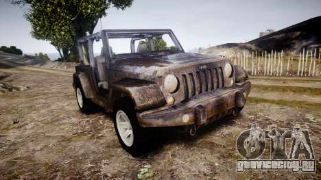 Jeep Wrangler Unlimited Rubicon для GTA 4