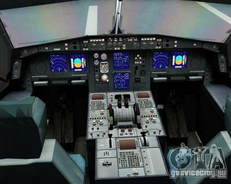 Airbus A330-300 Northwest Airlines для GTA San Andreas салон