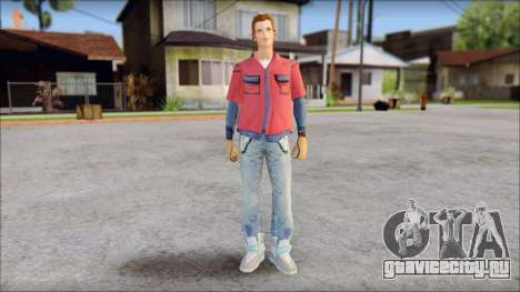 Marty with No Hat 2015 для GTA San Andreas
