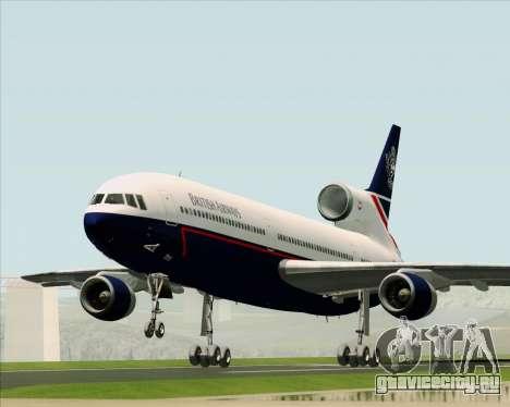 Lockheed L-1011 TriStar British Airways для GTA San Andreas вид сзади