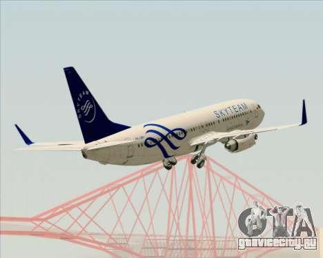 Boeing 737-86N Garuda Indonesia для GTA San Andreas двигатель