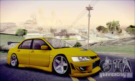 Mitsubishi Lancer Turkis Drift для GTA San Andreas