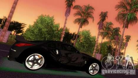 Nissan 350Z Veiside DK для GTA Vice City вид сзади слева