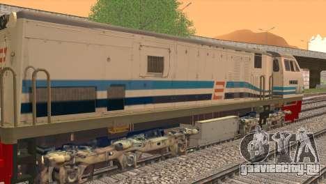 GE U20C CC 203 Old Livery для GTA San Andreas вид сзади слева