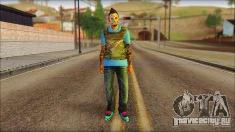 Skin Sicario GTA V By Cesar Hardy для GTA San Andreas