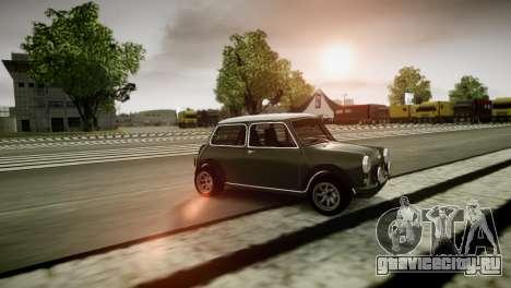 Mini Cooper RWD для GTA 4 вид сзади слева