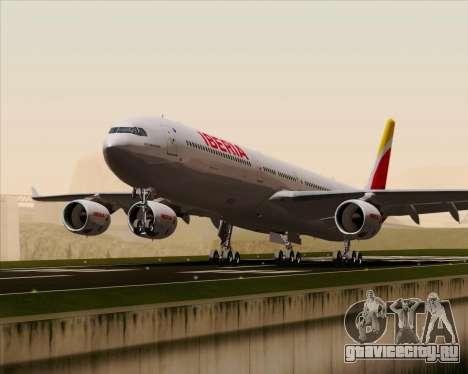 Airbus A340-642 Iberia Airlines для GTA San Andreas