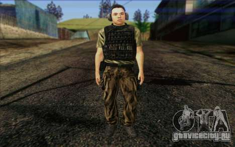Asano from ArmA II: PMC для GTA San Andreas
