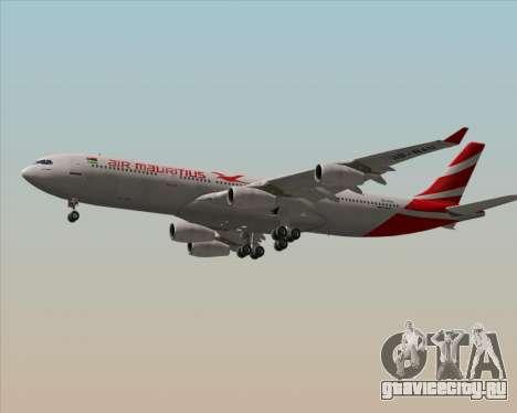 Airbus A340-312 Air Mauritius для GTA San Andreas вид сзади