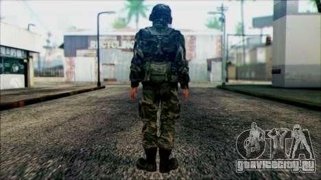 Солдат Национальной гвардии США (WIC) для GTA San Andreas второй скриншот