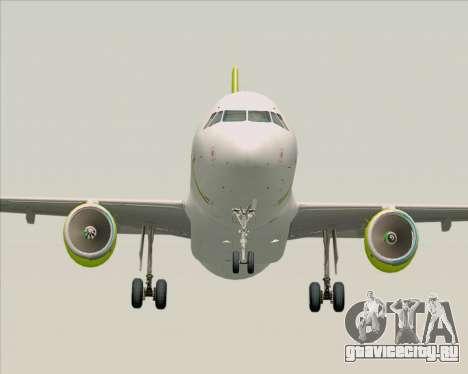 Airbus A320-200 Air Australia для GTA San Andreas вид сзади
