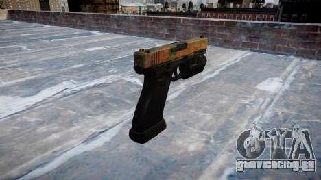 Пистолет Glock 20 jungle для GTA 4 второй скриншот
