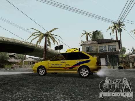 ВАЗ 2114 ТМК Форсаж для GTA San Andreas вид сзади