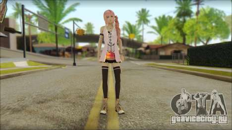 Sarah from Final Fantasy XIII для GTA San Andreas