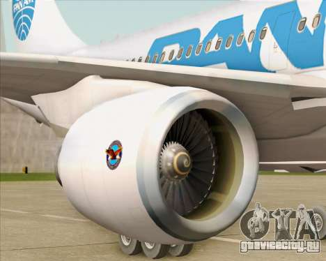 Airbus A310-324 Pan American World Airways для GTA San Andreas салон