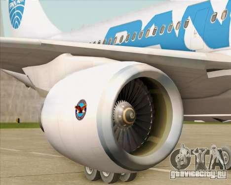Airbus A310-324 Pan American World Airways для GTA San Andreas салон