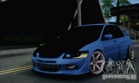 Mitsubishi Lancer Evolution IIX для GTA San Andreas