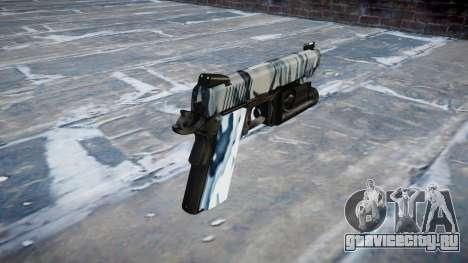 Пистолет Kimber 1911 Skulls для GTA 4 второй скриншот