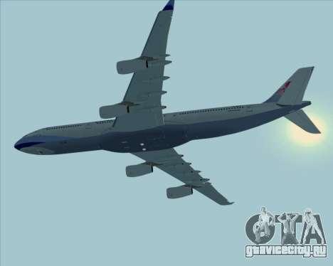 Airbus A340-313 China Airlines для GTA San Andreas
