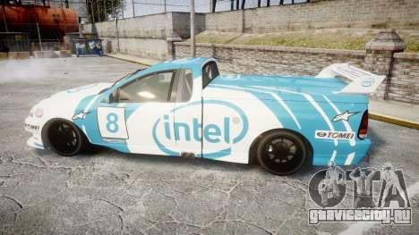Ford Falcon XR8 Racing для GTA 4 вид слева