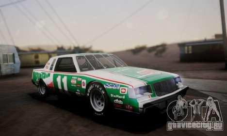 Buick Regal 1983 для GTA San Andreas вид снизу