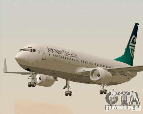 Boeing 737-800 Air New Zealand для GTA San Andreas