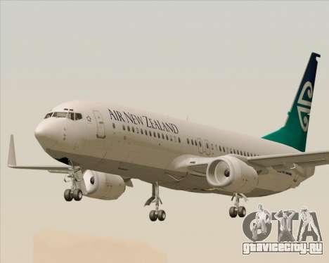 Boeing 737-800 Air New Zealand для GTA San Andreas