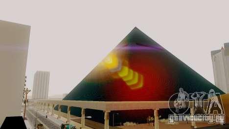 Новые текстуры пирамиды в Лас-Вентурасе для GTA San Andreas пятый скриншот