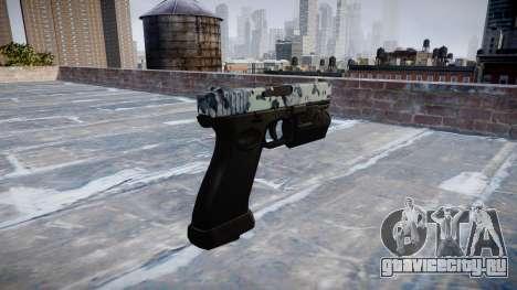 Пистолет Glock 20 skulls для GTA 4 второй скриншот
