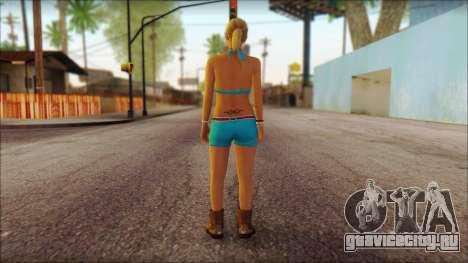 Tracey De Santa для GTA San Andreas второй скриншот