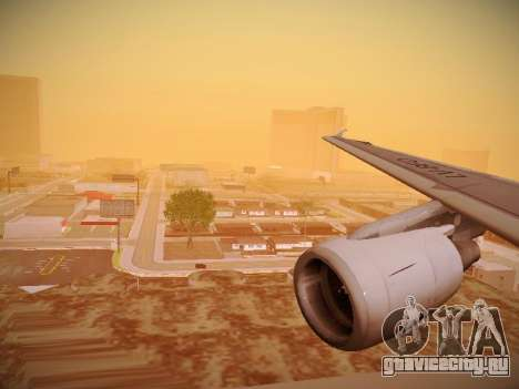Airbus A320-214 LAN Oneworld для GTA San Andreas