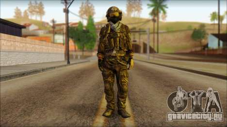 Боец OGA (MoHW) v1 для GTA San Andreas
