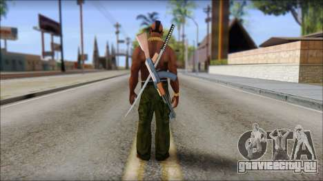 MR T Skin v9 для GTA San Andreas второй скриншот