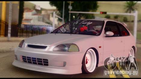 Honda Civic 1.4 Hatchback для GTA San Andreas