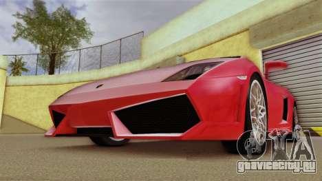 Lamborghini Gallardo LP 560-4 для GTA Vice City вид слева