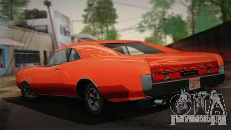 GTA 4 Dukes Tunable для GTA San Andreas вид слева