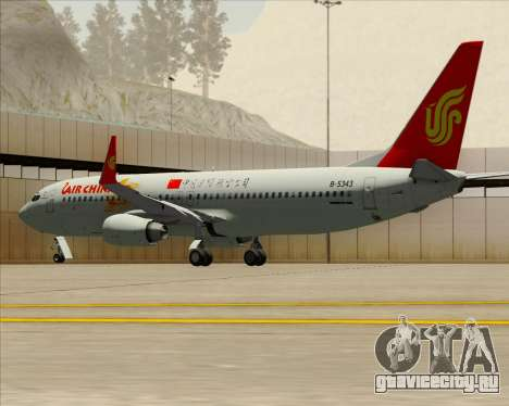 Boeing 737-89L Air China для GTA San Andreas двигатель