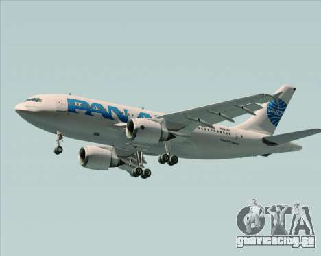 Airbus A310-324 Pan American World Airways для GTA San Andreas двигатель