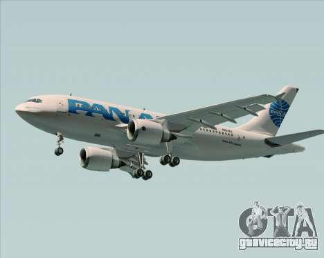 Airbus A310-324 Pan American World Airways для GTA San Andreas двигатель