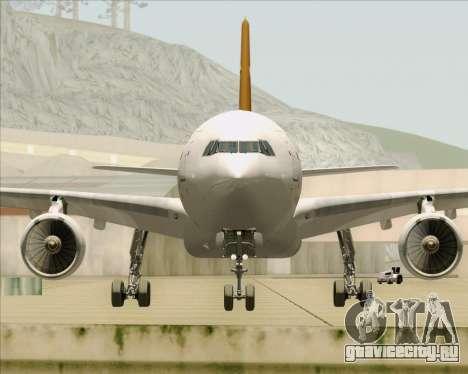Airbus A330-300P2F UPS Airlines для GTA San Andreas вид сверху
