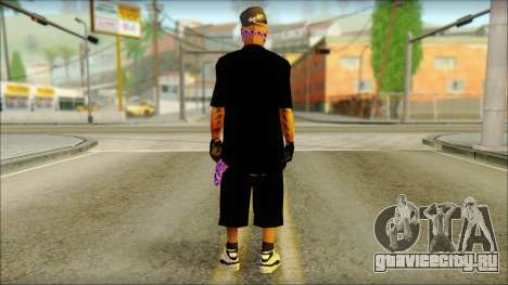 East Side Ballas Skin 2 для GTA San Andreas второй скриншот