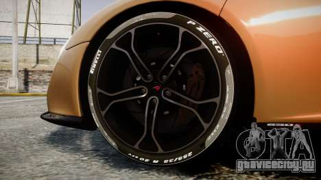 McLaren 650S Spider 2014 [EPM] Pirelli v2 для GTA 4 вид сзади
