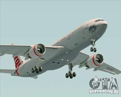 Airbus A330-200 Virgin Australia для GTA San Andreas вид сбоку