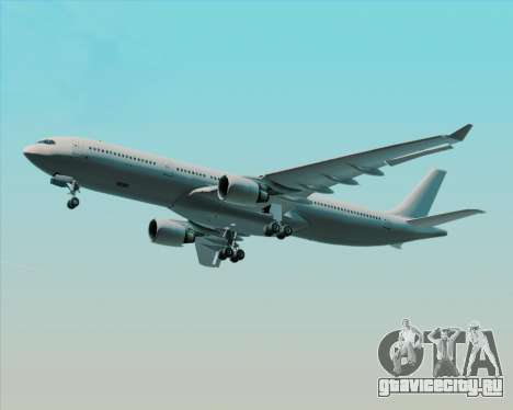 Airbus A330-300 Full White Livery для GTA San Andreas вид сверху