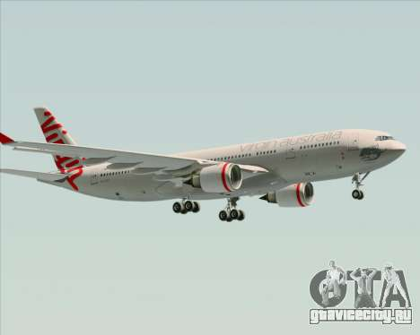 Airbus A330-200 Virgin Australia для GTA San Andreas вид снизу