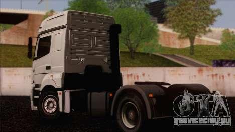 КамАЗ 5490 для GTA San Andreas вид слева
